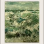 Das Meer Öl Auf Pappe 80 x 65 cm Druck auf Lithopapier, 80 x 65 cm http://www.visuellewelt.de/ Copyright A. Keyhanian