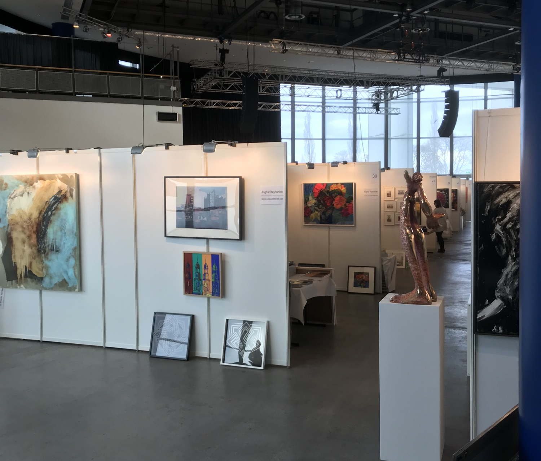 HanseArt Kunstmesse in Lübeck 16. - 18. März 2018 Alles weitere auf www.kunstmesse-hanseart.de